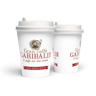 Стаканчик бумажный Garibaldi 175 мл (100шт)